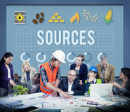 Sources Career Circumstance Management People Concept Stock Photos