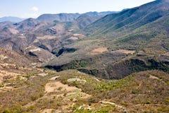 Sources d'eau minérale - destination de touristes célèbre, Oaxaca, Mexique Photographie stock libre de droits