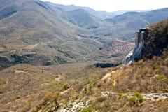 Sources d'eau minérale - destination de touristes célèbre, Oaxaca, Mexique Images libres de droits