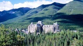 Sources de Banff Photographie stock libre de droits