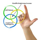 Health, happiness, and success Royalty Free Stock Photography