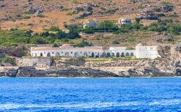 Sources Kallithea (Terme Kalithea). Rhodes. Greece Stock Images