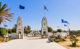 Sources Kallithea (Terme Kalithea). Rhodes Island. Greece Stock Image