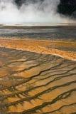 Sources prismatiques grandes Yellowstone Image libre de droits