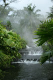 Sources thermales d'Arenal - Costa Rica Photo libre de droits