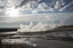 Sources thermales de Yellowstone photo libre de droits