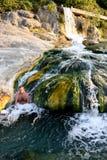 Sources thermales naturelles, Thermopylae image libre de droits