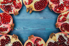 Sources of vitamins and antioxidants in the winter, food for raw Royalty Free Stock Image