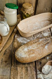 Sourdough bread with beer Royalty Free Stock Photo