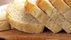 Sourdough bread stock video footage