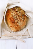 Sourdough bread with seeds and grains Stock Photography