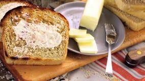 Sourdough bread stock footage