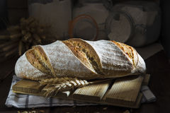 Sourdough bread Stock Image