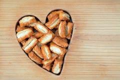 Sourdough nugget pretzels Royalty Free Stock Images