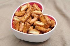 Sourdough nuggets pretzels Stock Images