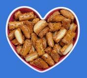 Sourdough nuggets pretzels Stock Image