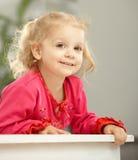 Sourire âgé de deux ans heureux Photographie stock libre de droits
