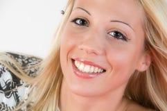 Sourire étonnant Image libre de droits