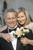Sourire affectueux heureux de couples Photos libres de droits