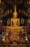 Sourire asseyant Bouddha Photographie stock