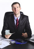 Sourire businesman Photo stock