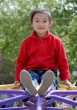 sourire chinois d'enfants Photographie stock libre de droits