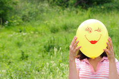 Sourire d'air Photo stock