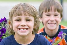 Sourire d'amis Image libre de droits