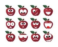 Sourire d'Apple Image libre de droits