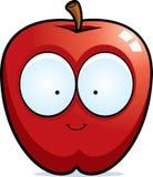 Sourire d'Apple de bande dessinée illustration stock
