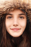 Sourire d'hiver Images stock