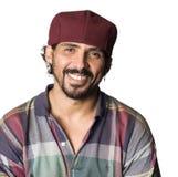 sourire d'homme de latino photographie stock libre de droits