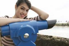 Sourire d'observatoire de verticale photos libres de droits