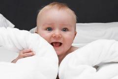 Sourire de bébé Photos stock