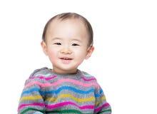 Sourire de bébé garçon de l'Asie photos libres de droits