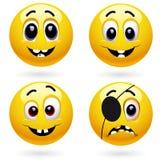 sourire de billes Photos libres de droits