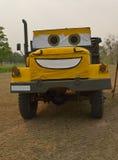 Sourire de camion Photographie stock