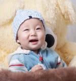 sourire de chéri Photo libre de droits