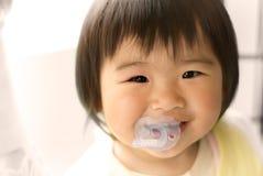 sourire de chéri de l'Asie images libres de droits