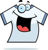 Sourire de chemise Photographie stock