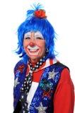 Sourire de clown image stock