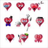 Sourire de coeur illustration stock