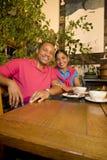 Sourire de couples Images stock