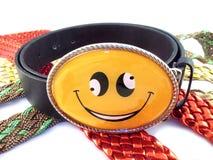 sourire de courroie Photo stock