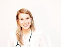 Sourire de docteur Image libre de droits
