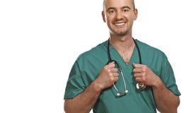 sourire de docteur Photo libre de droits