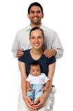 Sourire de famille Photos libres de droits