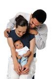 Sourire de famille Photo stock