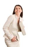 Sourire de femme élégante Photos libres de droits