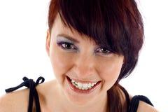 Sourire de femme Images libres de droits
